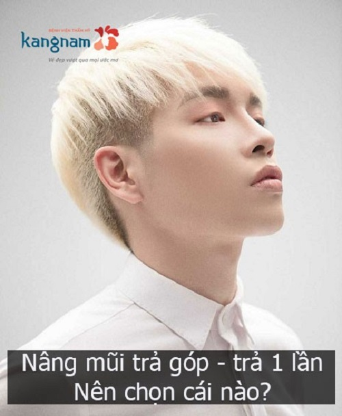 nâng mũi trả góp kangnam