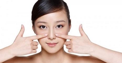 massage thu gọn cánh mũi
