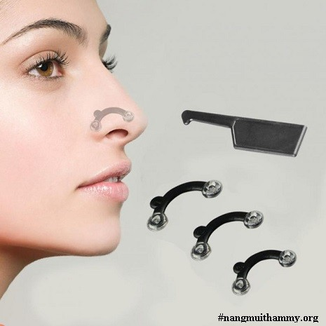 kẹp nâng mũi silicon nhật bản