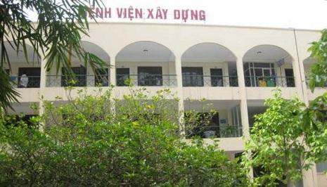 bệnh viện bộ xây dựng