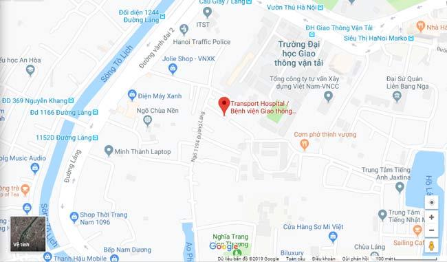bệnh viện giao thông vận tải Hà Nội