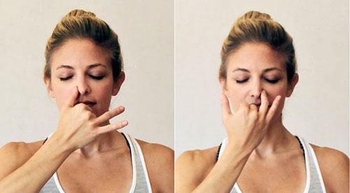 mũi tẹt hếch