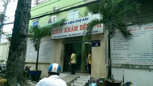 bệnh viện chợ rẫy khám dịch vụ