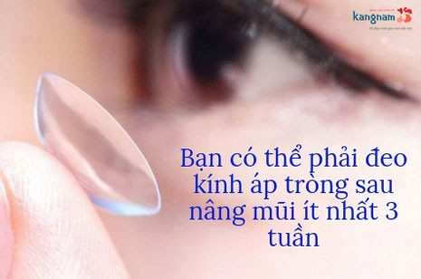 cách vệ sinh mũi sau khi nâng