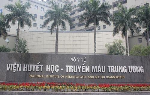 bệnh viện huyết học trung ương