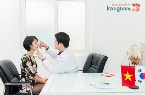 bác sĩ nâng mũi tại kangnam