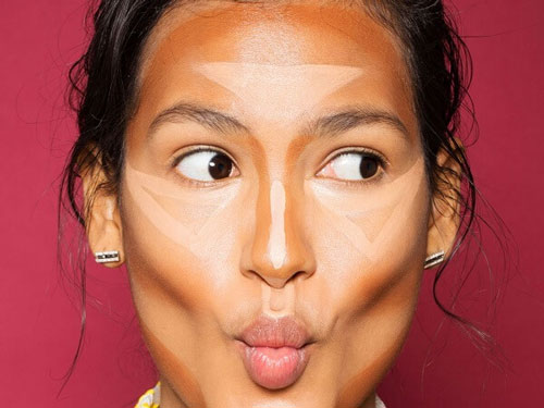 make up cho mũi to