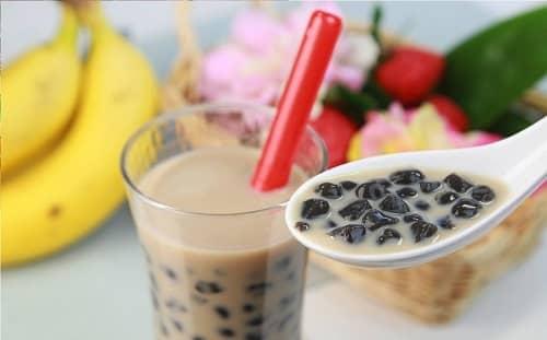 lưu ý khi uống trà sữa sau nâng mũi